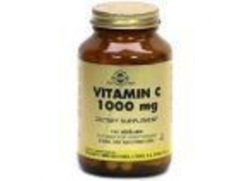 Solgar Solgar Vitamin C 1000 mg plantaardige capsules