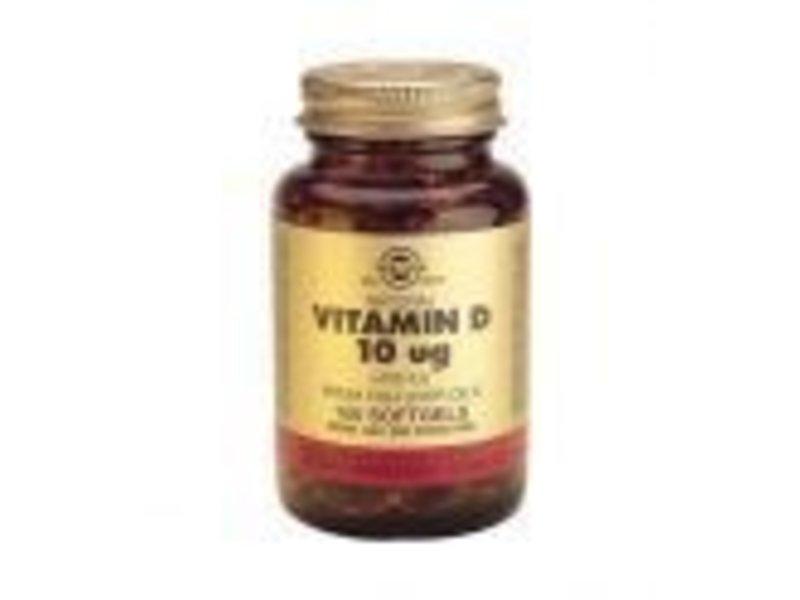 Solgar Solgar Vitamin D-3 10 åµg