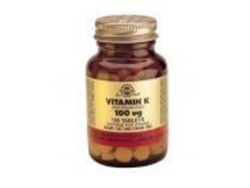 Solgar Solgar Vitamin K-1 100 åµg
