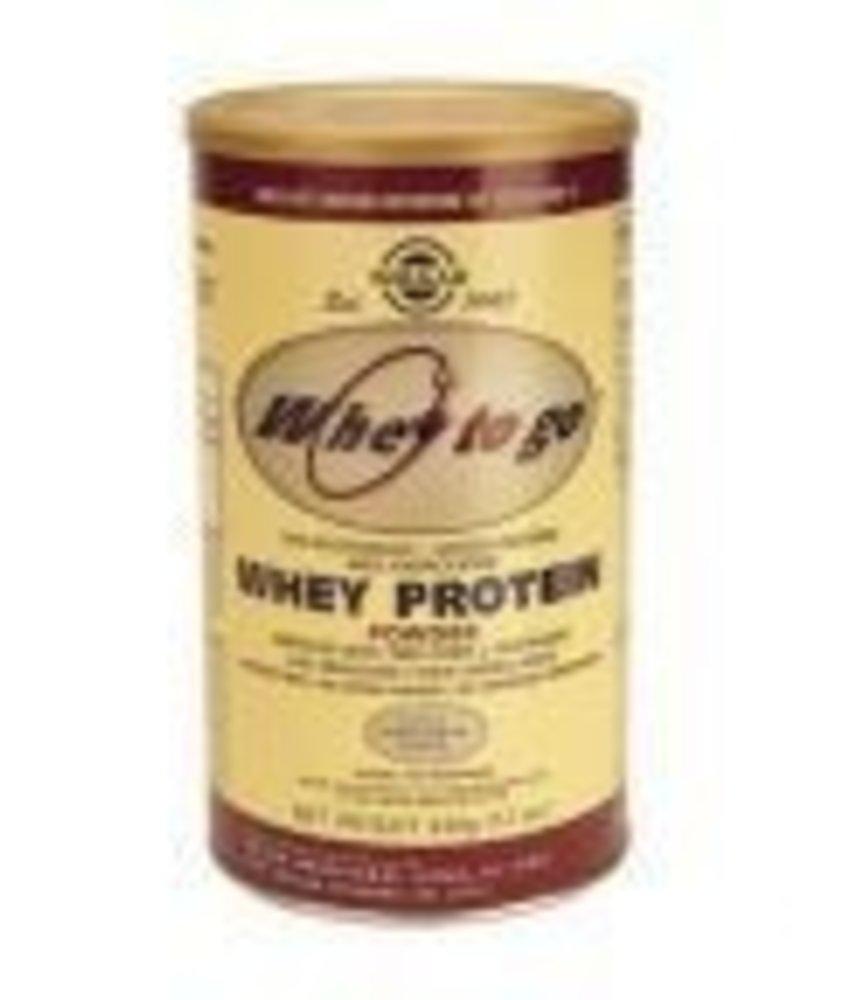 Solgar Solgar Whey To Go Protein Vanilla Wei eiwit poeder