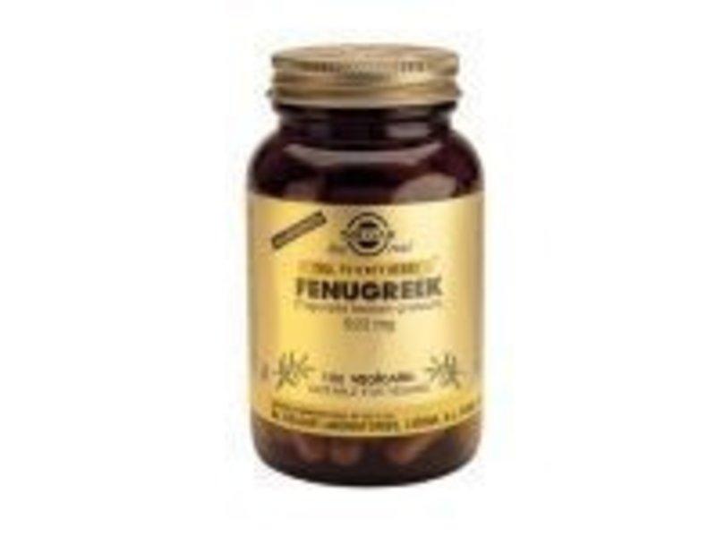 Solgar Solgar Fenugreek plantaardige capsules