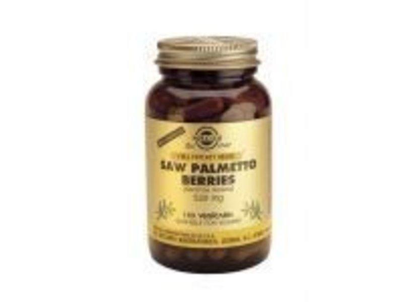 Solgar Solgar Saw Palmetto Berries Zaagpalm plantaardige capsules