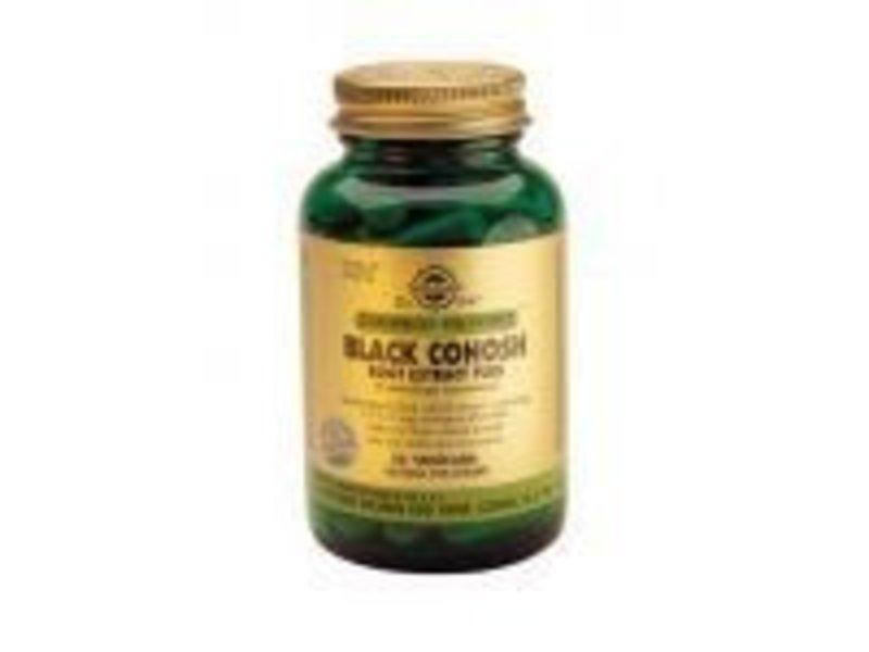 Solgar Solgar Black Cohosh Root Extract Plus Troszilverkaars plantaardige capsules