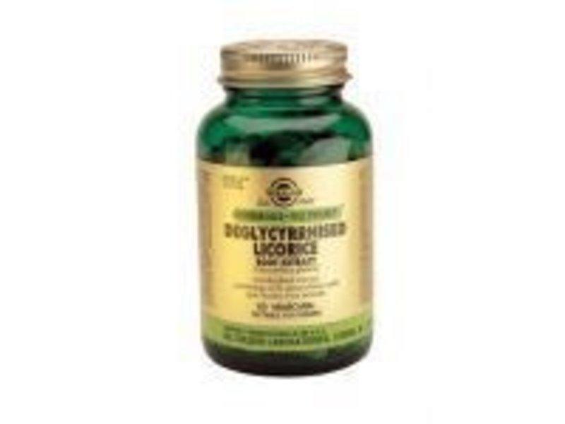 Solgar Solgar Deglycyrrhised Licorice Root Zoethoutwortel plantaardige capsules