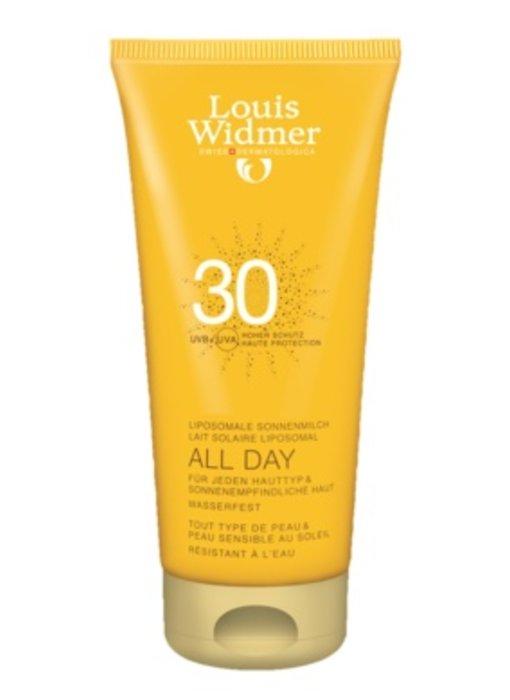 Louis Widmer All Day SPF 30+ ongeparfumeerd