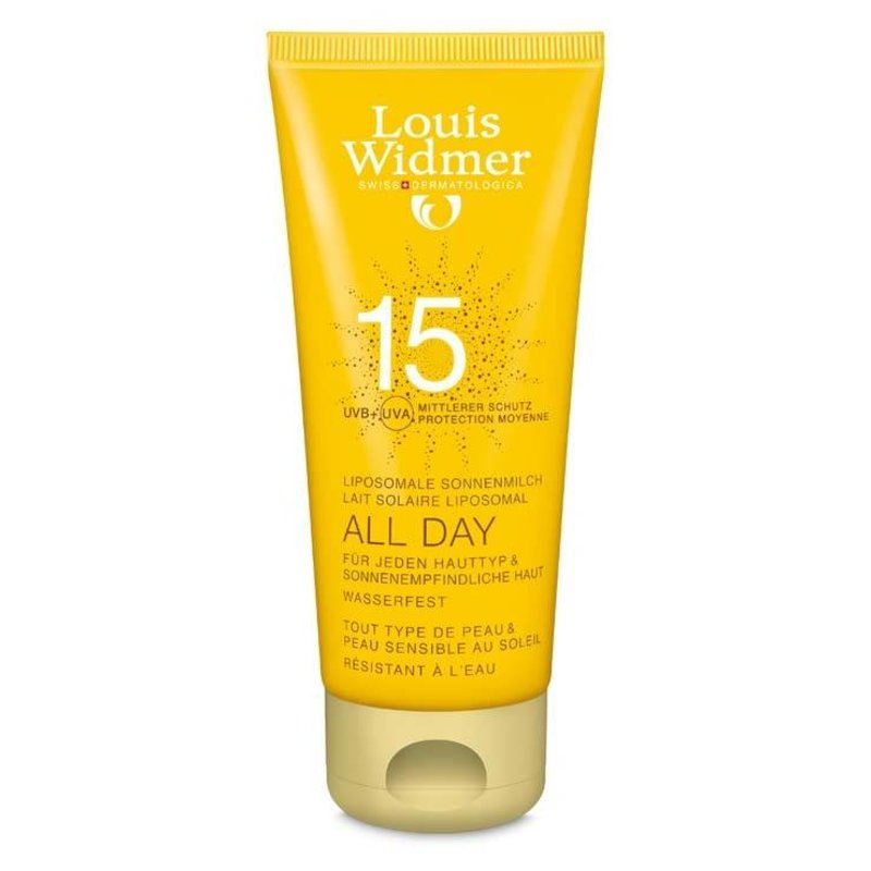 Louis Widmer All Day SPF 15+ licht geparfumeerd