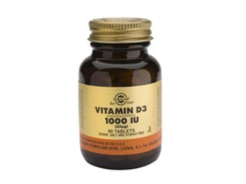 Solgar Solgar Vitamine D3 1000 IU
