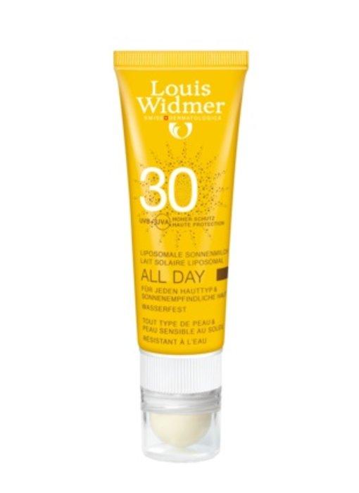 Louis Widmer All Day SPF 30+ met Lipstick licht geparfumeerd