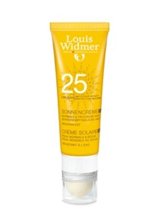 Louis Widmer Sun Cream SPF 25+ plus Lipstick UV30 ongeparfumeerd