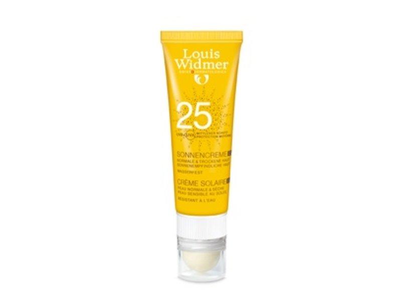 Louis Widmer Louis Widmer Sun Cream SPF 25+ plus Lipstick UV30 ongeparfumeerd