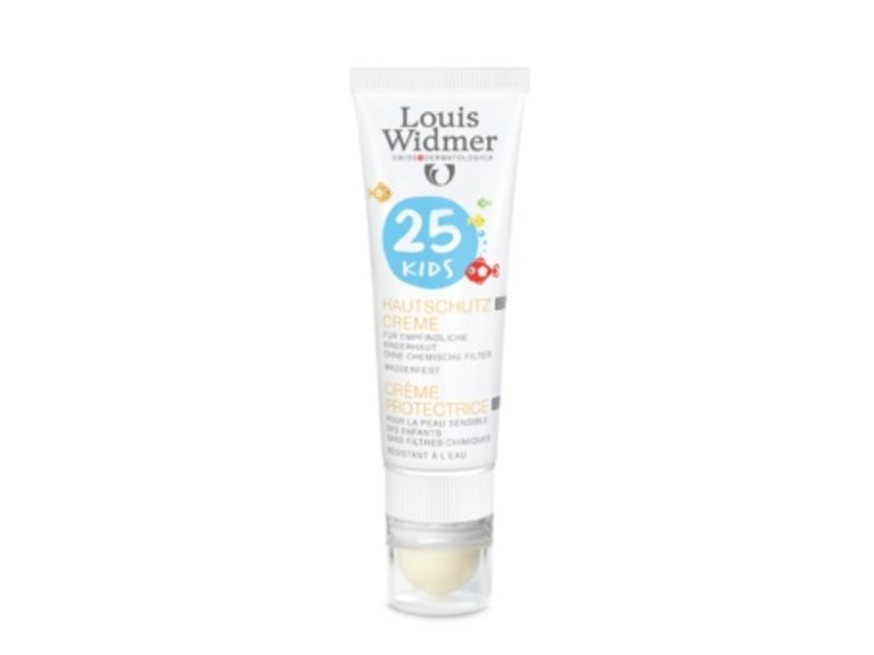 Louis Widmer Louis Widmer Kids Protection Cream SPF 25+ plus Lipstick UV 30