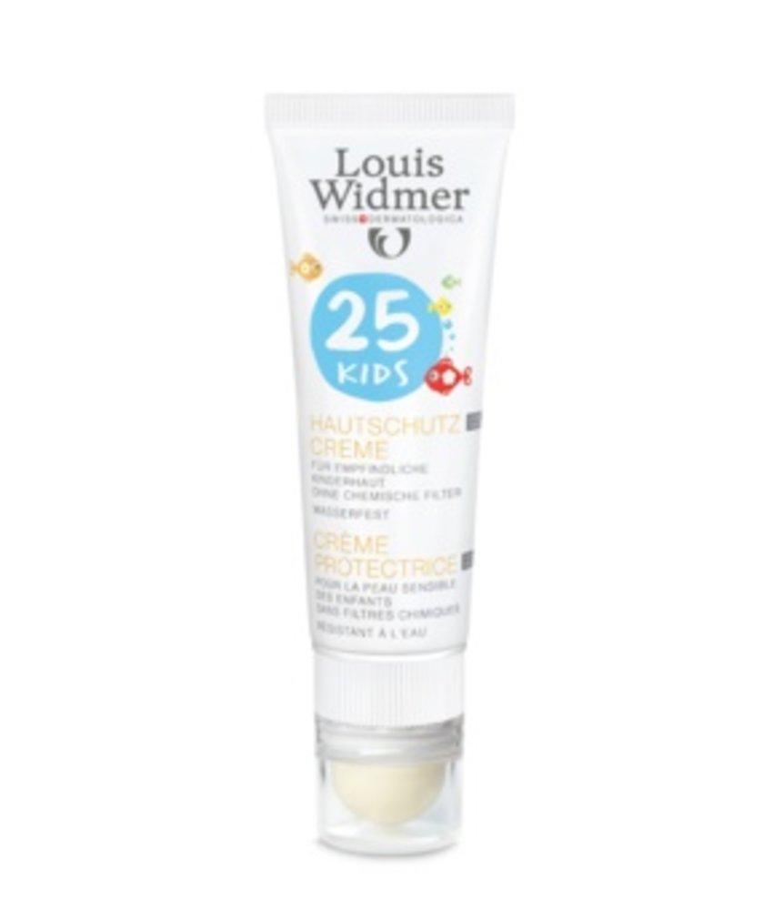 Louis Widmer Kids Protection Cream SPF 25+ plus Lipstick UV30