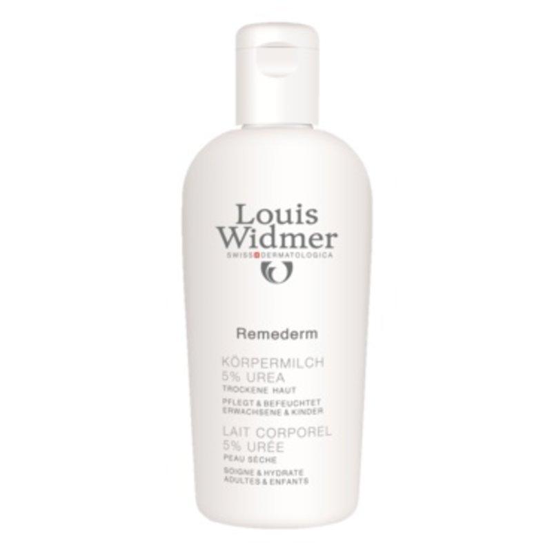 Louis Widmer Remederm lichaamsmelk licht geparfumeerd