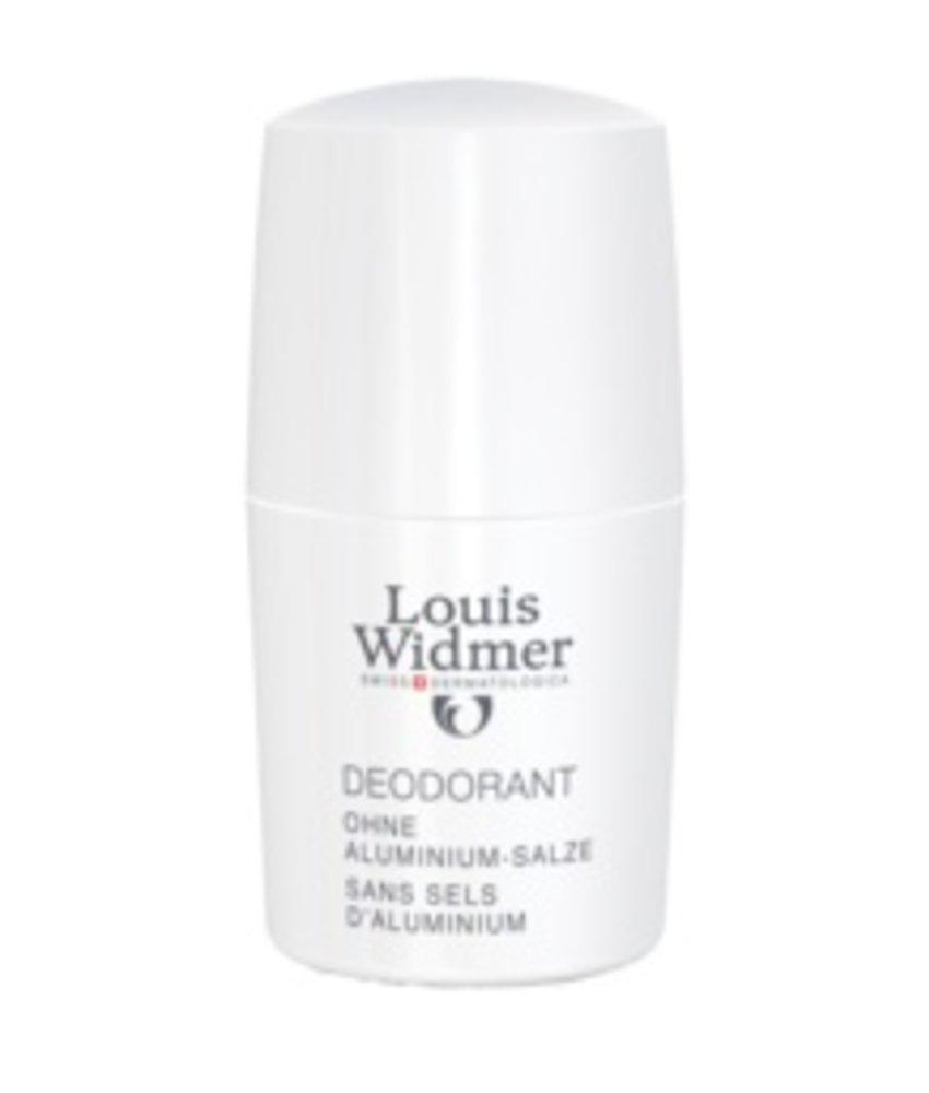 Louis Widmer Deoroller zonder aluminiumzouten geparfumeerd
