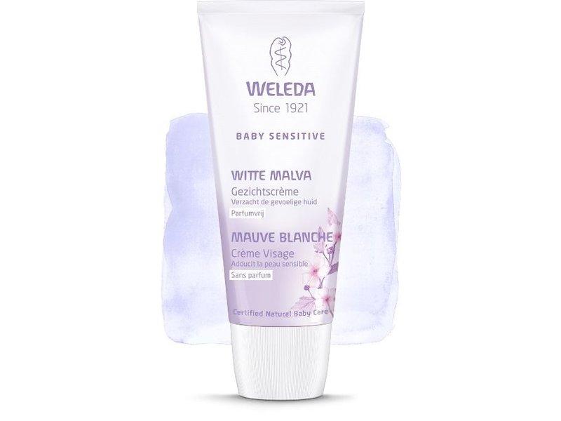 Weleda Weleda baby sensitive witte malva gezichtscrème