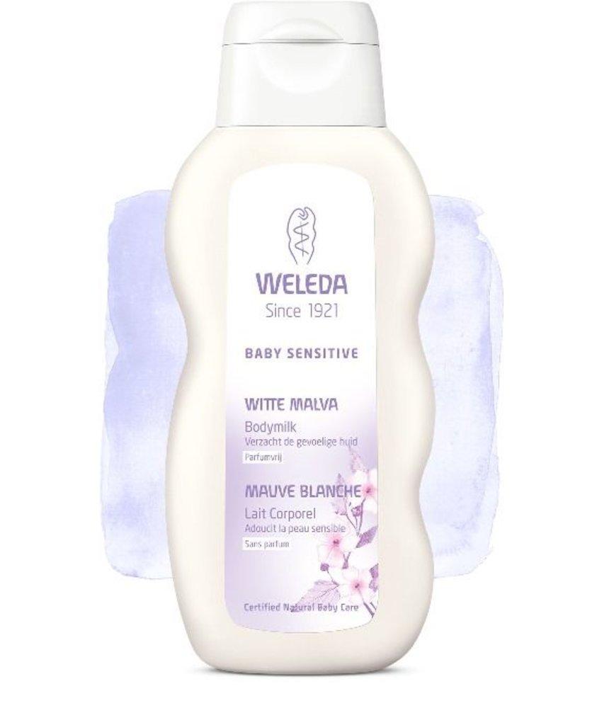 Weleda Weleda baby sensitive witte malva bodymilk