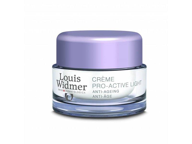 Louis Widmer Louis Widmer Pro Active Cream Light Ongeparfumeerd mini