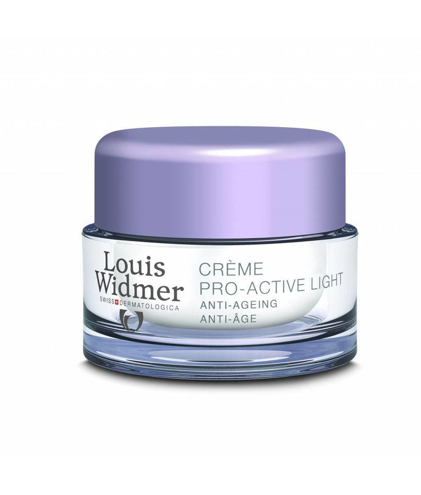 Louis Widmer Pro Active Cream Light Ongeparfumeerd mini