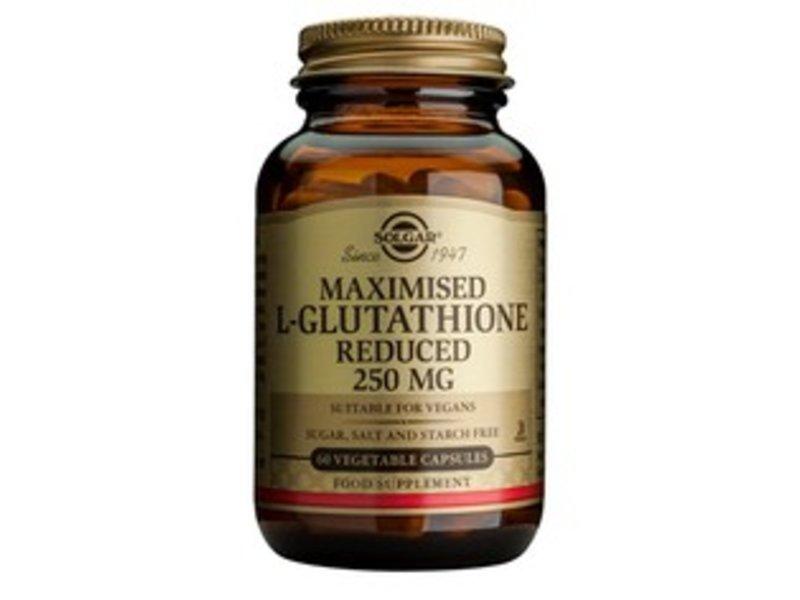 Solgar Maximised L-Glutathione 250 mg plantaardige capsules