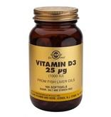 Solgar Vitamin D-3 25 µg/1000 IU softgels