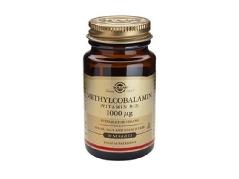 Solgar Methylcobalamin 1000 µg vitamine B12 tabletten