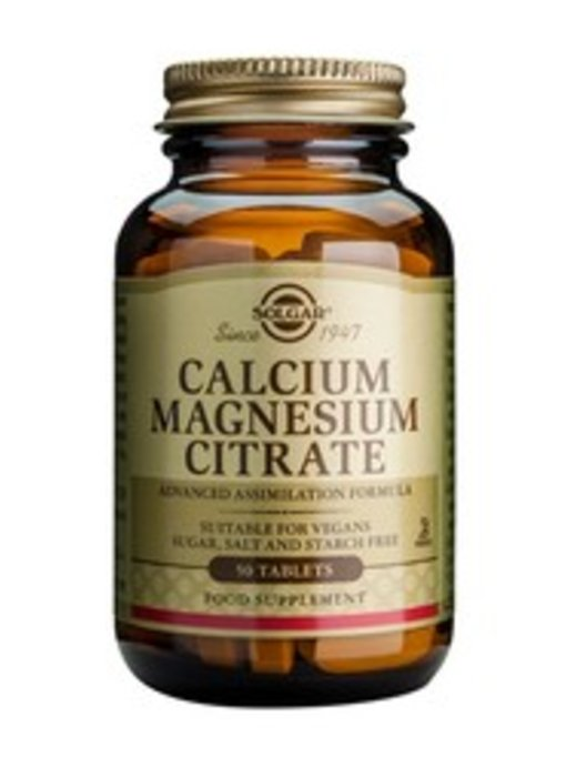 Solgar Calcium Magnesium Citrate tabletten