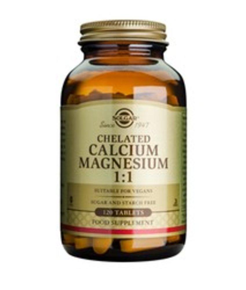 Solgar Chelated Calcium/Magnesium 1:1 tabletten