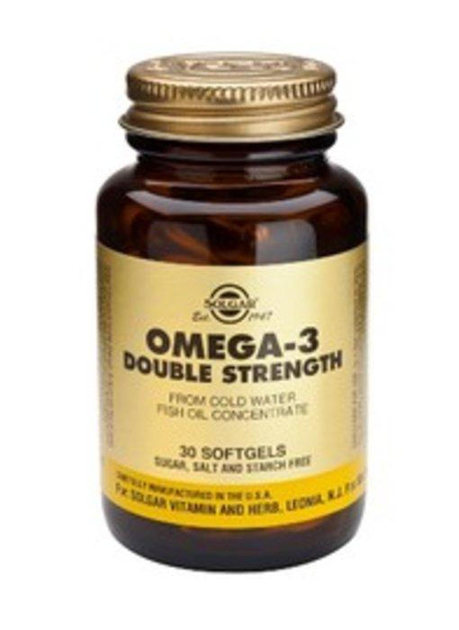 Solgar Omega-3 Double Strength softgels