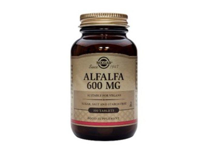 Solgar Alfalfa 600 mg tabletten