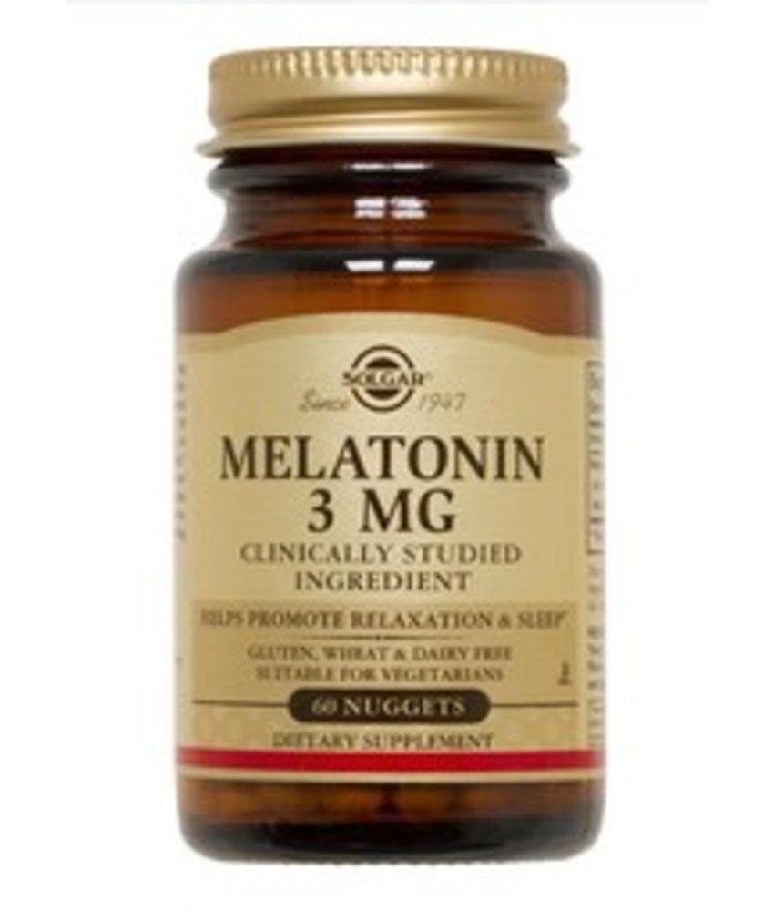 Solgar Melatonin 3 mg tabletten