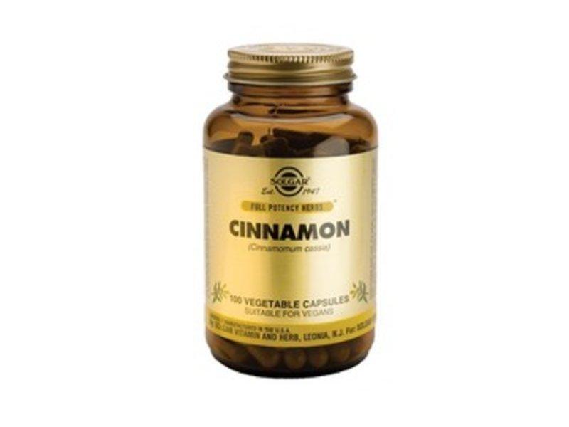 Solgar Cinnamon Kaneel Plantaardige capsules