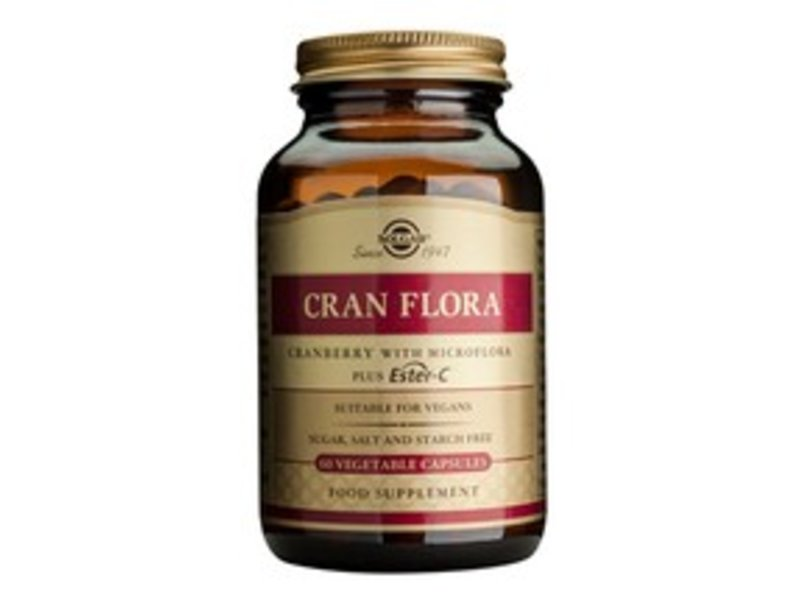 Solgar Cran Flora plantaardige capsules