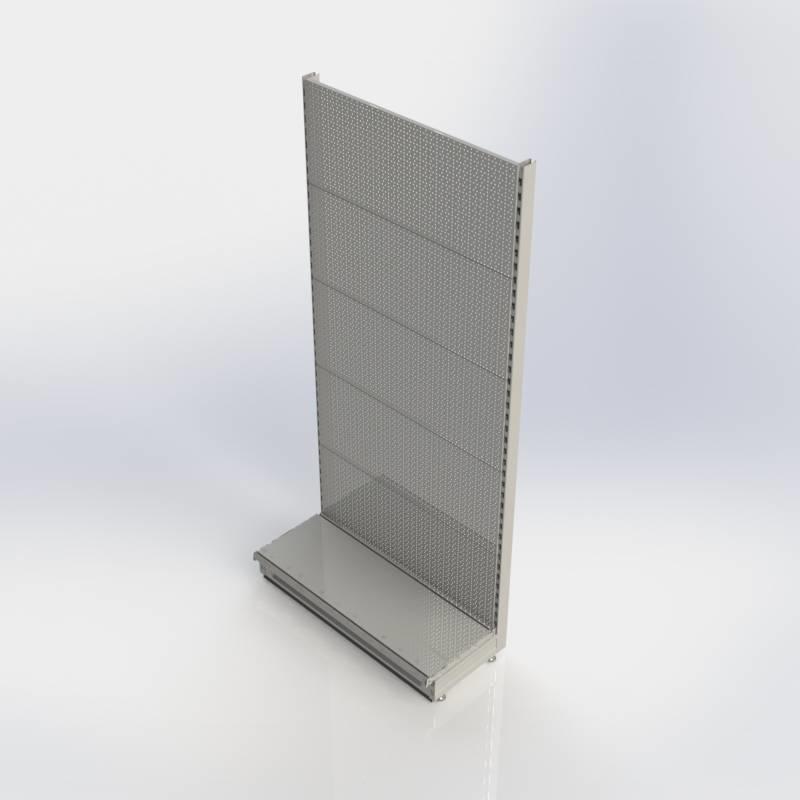 Winkelstelling wandunit met perforatie rugwand