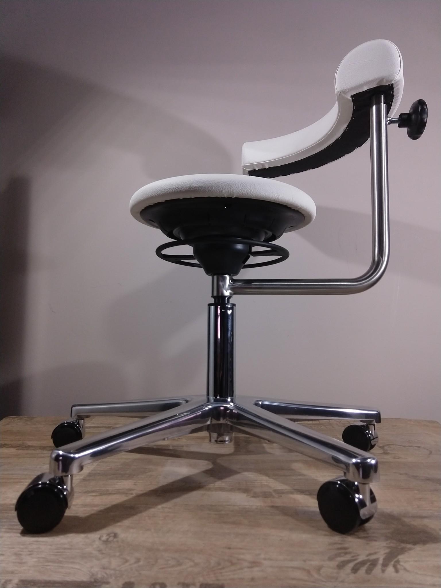 BALIMO®CLASSIC BALIMO® Sitztrainer Office Kunstleder Weiß