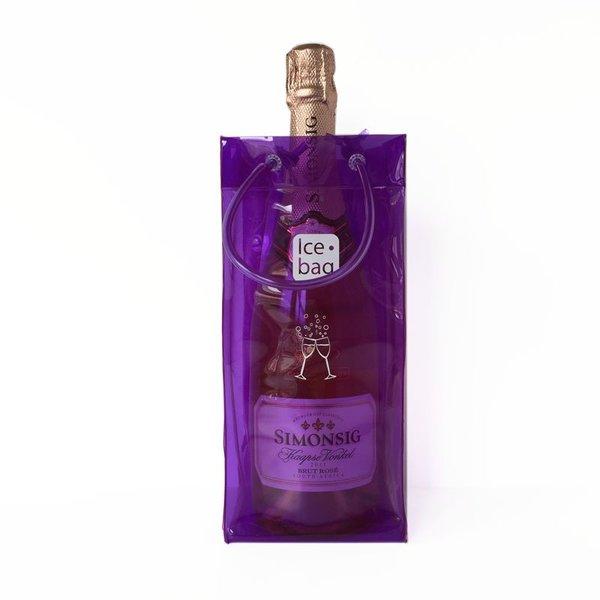 wijnkoeler paars