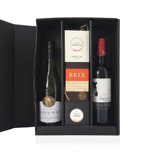 Cadeaubox Chocolate, sweets and winelovers