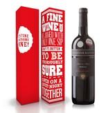 "Wijnbox ""A fine wine"""