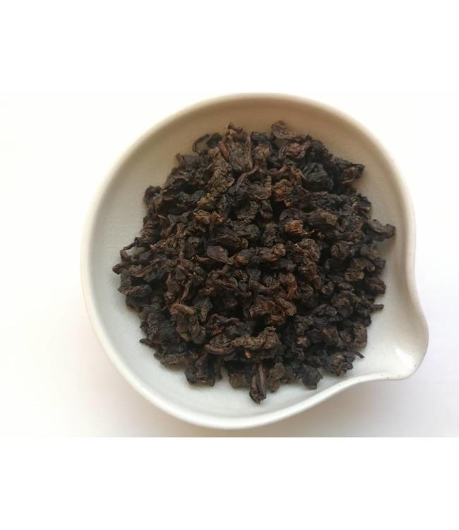 Oolong Aged Charcoal Tieguanyin (Iron Goddes of Mercy)  1993