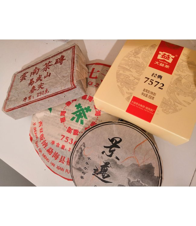 Pu-erh tea Kit May