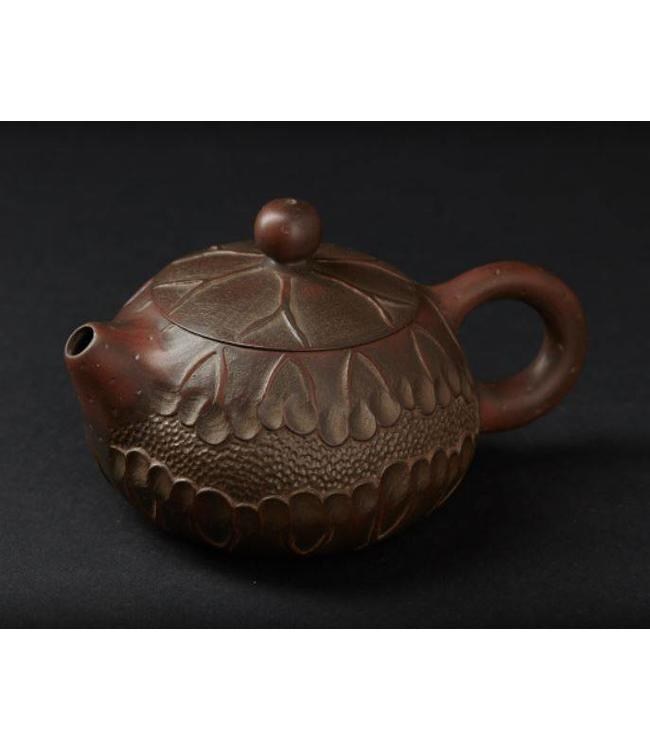 Jianshui Xishi Teekännchen (150 ml mit Gravur)