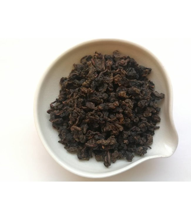 Oolong Aged Charcoal Tieguanyin (Iron Goddes of Mercy)  1998