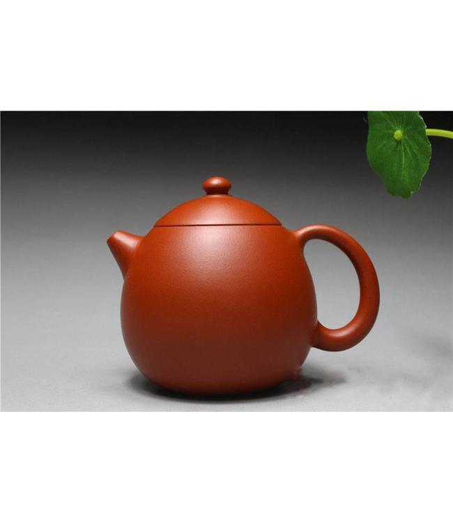 Yixing Zhuni Longdan tea pot (220 cc, globe screen)