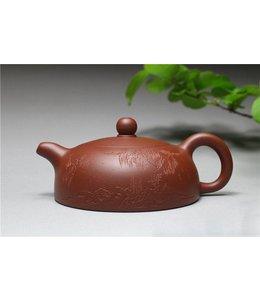 Yixing Zini Banyue tea pot (135 cc, globe screen)