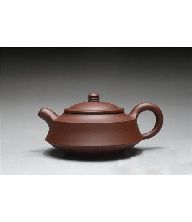 Yixing Zini Zhoupan tea pot (200 cc, globe screen)