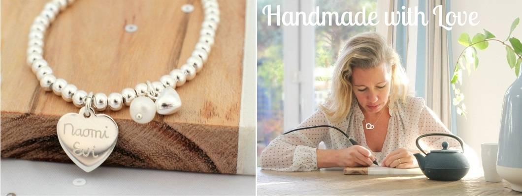Moederdagcollectie 2017: unieke handgegraveerde sieraden