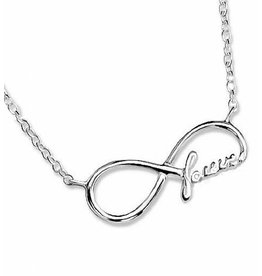 KAYA sieraden Silver necklace 'Forever'