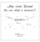 "KAYA Silver baby bracelet ""follow your dreams"" - Copy - Copy"