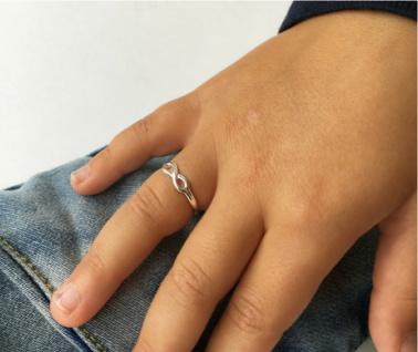 KAYA sieraden Zilveren Kinderring 'Infinity'
