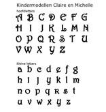 Sieraden Zilveren Kinderketting 'My Name' met Naam