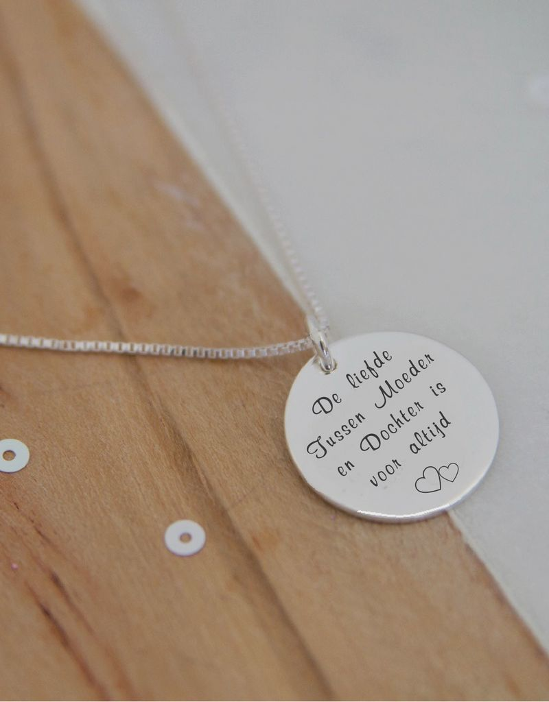 "KAYA Two Necklace ""The Love Between Mother & Daughter .. '"